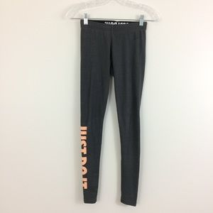 Nike Leg A See XS Leggings Tights Spellout